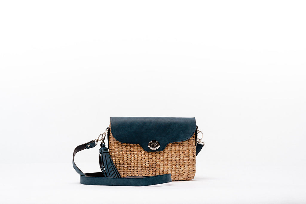 Ella Wallet Crossbody- Royal Blue