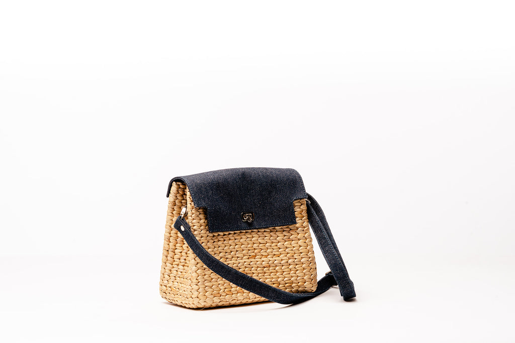 Kenzie Denim Crossbody