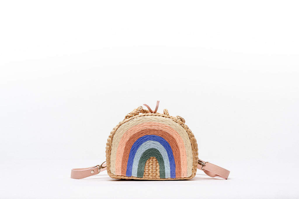 Pleiades x Sea & Grass Pastel Rainbow backpack
