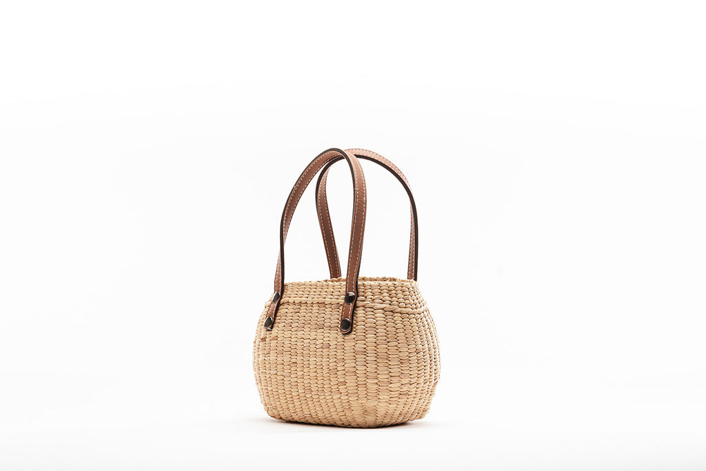 Mini tote-Tan