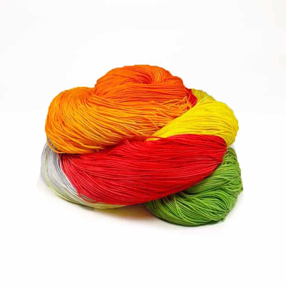 Hand Dyed Crochet Cotton Thread by Nothingbutstring