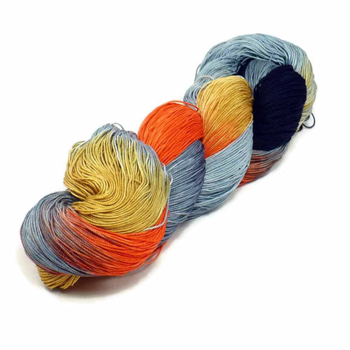 Cats Eye - 150 Yards of Hand Dyed Halloween Crochet Thread