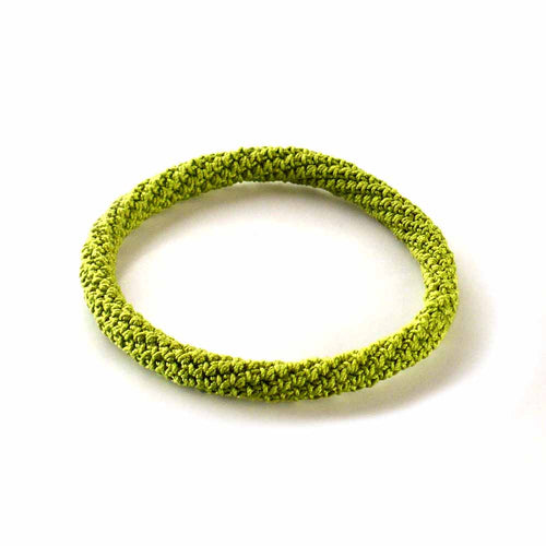 Chartreuse Green Bangle Bracelet