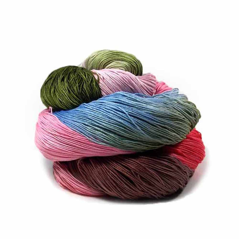 Hand dyed cotton thread by Nothingbutstring