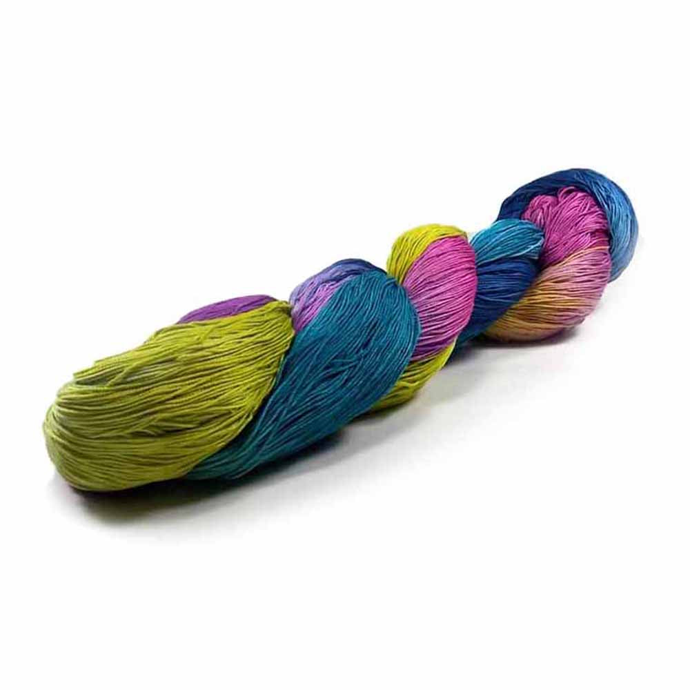 dyed crochet thread by Nothingbutstring