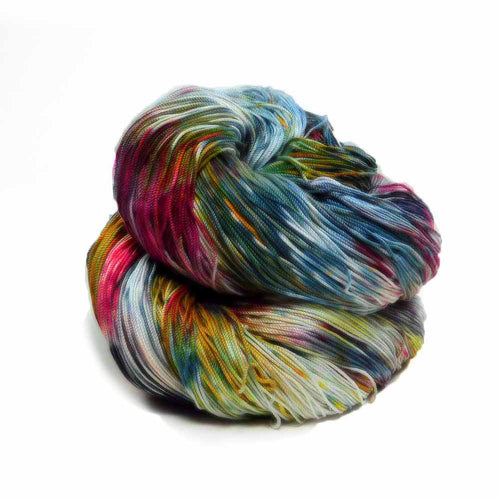 Multicolored thread by Nothingbutstring