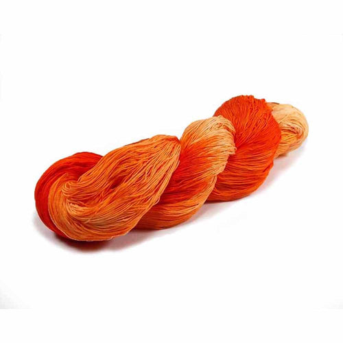 Hand dyed crochet rhread by Nothingbutstring