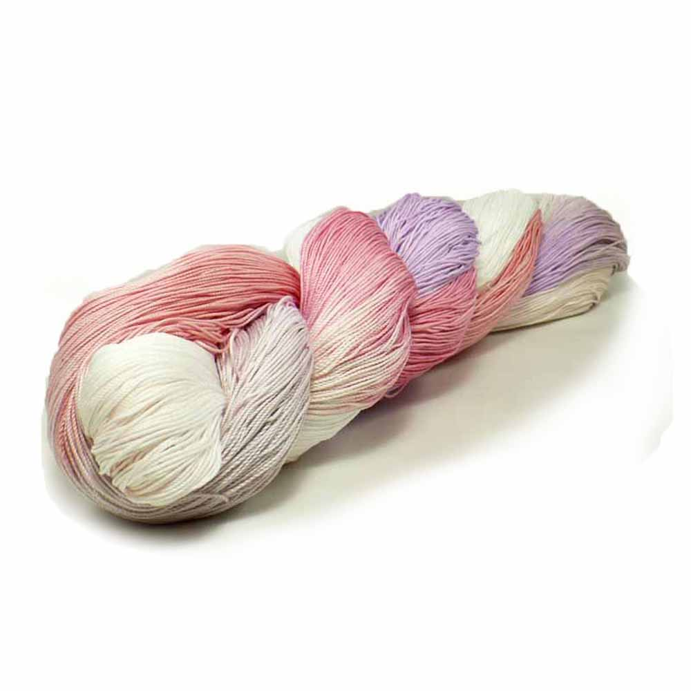 White, Pink, Purple Thread by Nothingbutstring