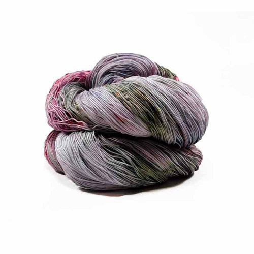 Purple, Green Burgundy colorway by Nothingbutstring