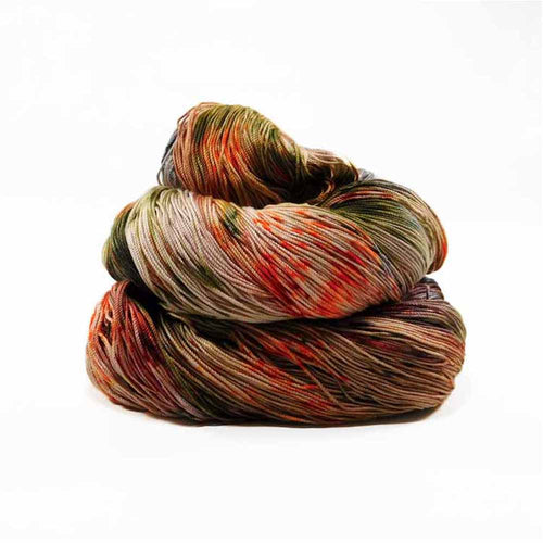 Fall colored speckled string by Nothingbutstring