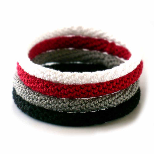 Crocheted Bangle Bracelet
