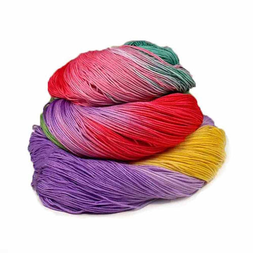 hand dyed crochet thread by nothingbutstring