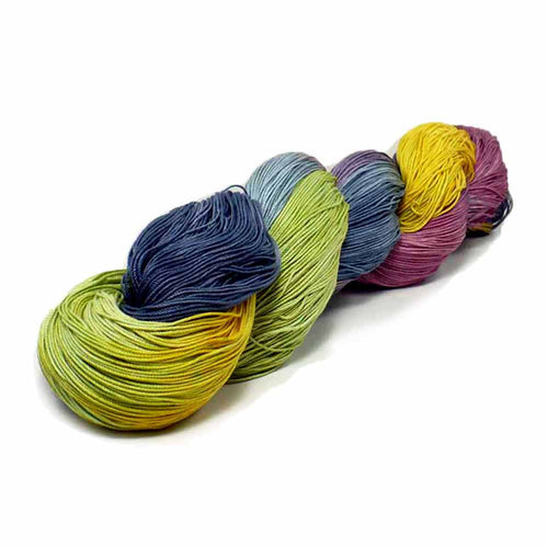 Classic Hand Dyed Hank of Thread by Nothingbutstring