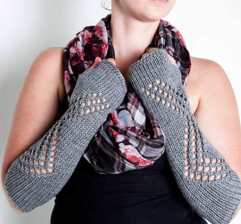 Long arm warmers by Nothingbutstring