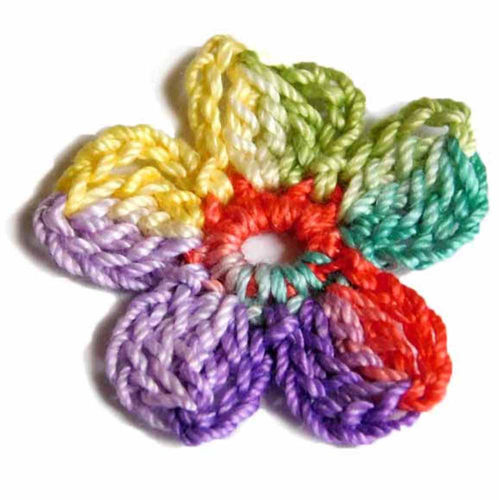 Colorful crochet supplies by Nothingbutstring