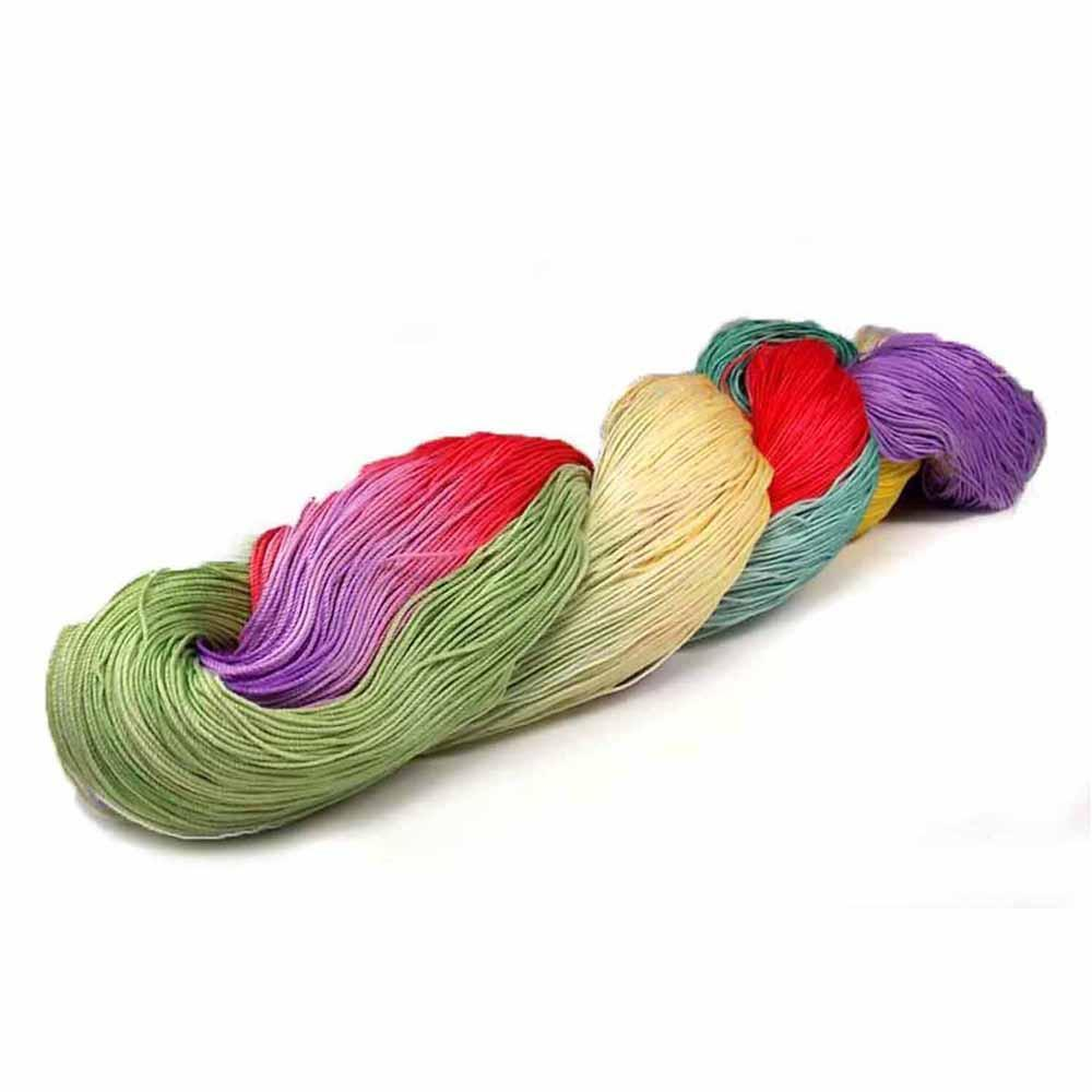 purple, red yellow green and aqua colorways by nothingbutstring