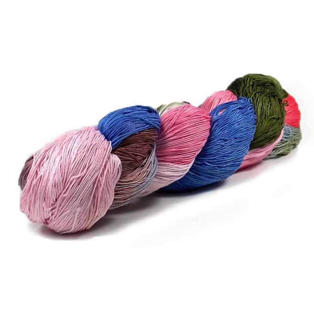 Nothingbutstring Hand dyed thread Country Door - 150 Yards of Hand Dyed Crochet Thread