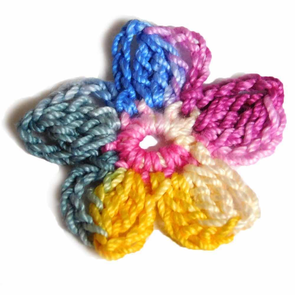 Nothingbutstring Hand dyed thread Flora - 150 Yards of Decorative Colorful Crochet Thread