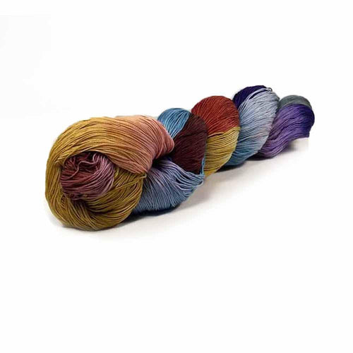 Nothingbutstring Hand dyed thread French Country Road - 150 Yards of Colorful Hand Dyed Size 10 Thread