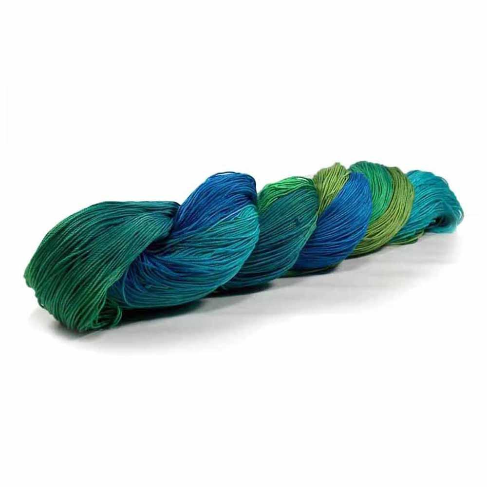 Nothingbutstring Hand dyed thread Mermaid - 150 Yards of Hand Dyed Size 10 Thread