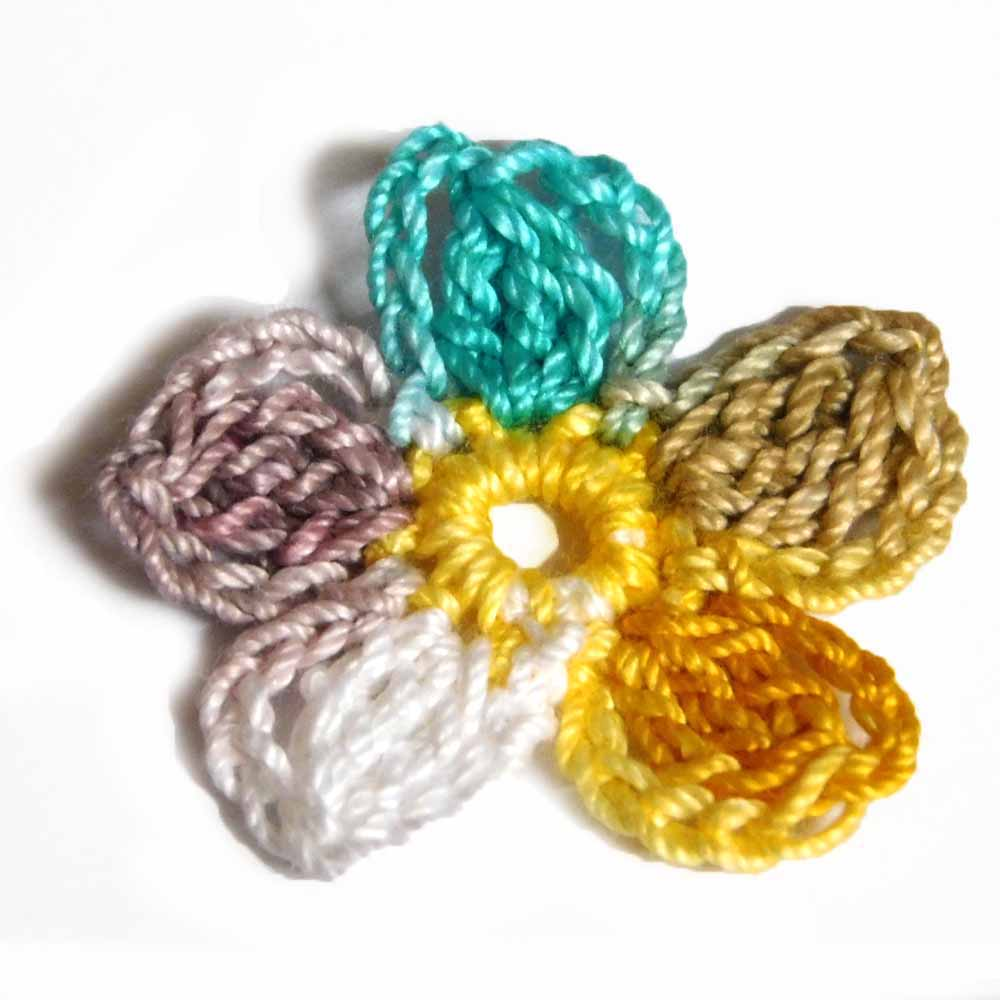 Crochet motifs by Nothingbutstring
