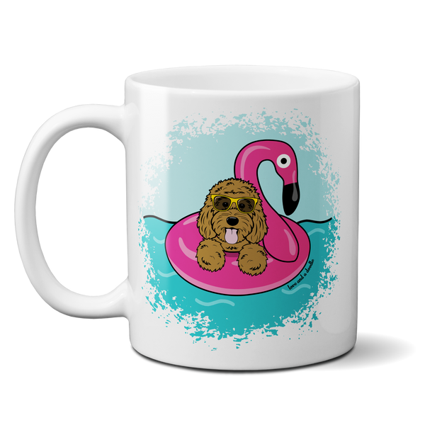 Flamingo Floatie mug - Customzie it!