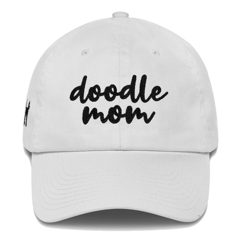 doodle mom embroidered baseball hat