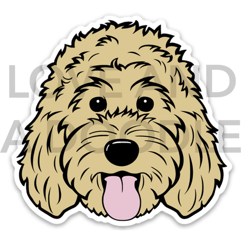 Happy Dood Sticker - Blonde 1