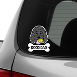 ADD-ON Dog Bone Car Decal