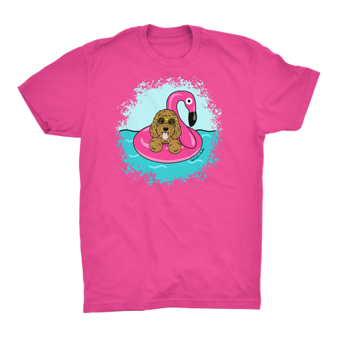Flamingo Floatie tee - More colors available