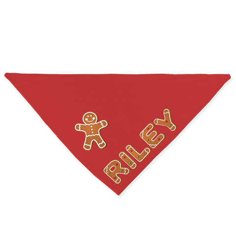 Gingerbread Cookies Bandana - Customize it!