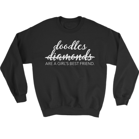 Girl's Best Friend Crewneck Sweatshirt