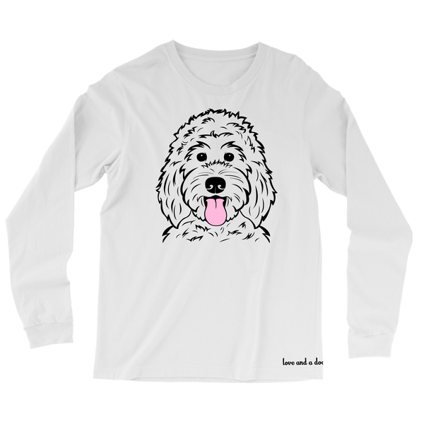 Happy Dood long sleeve tee - More colors available