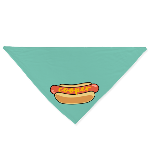Hotdog with Mustard Bandana - Customize it!