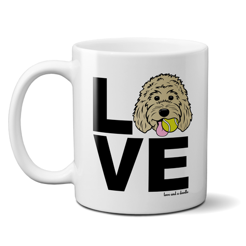Doodle LOVE mug - Customizable!