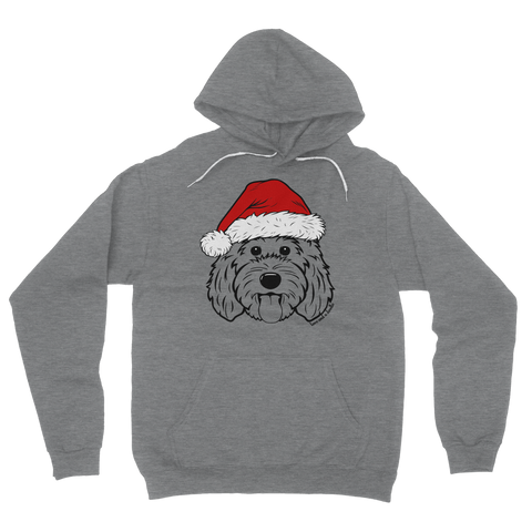 Doodle Claus Hoodie - Choose your design!