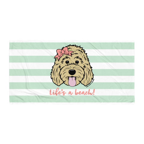 One Dood Beach Towel - Customize it!