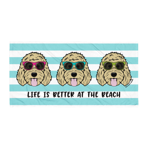 Three Doods Beach Towel - Customize it!