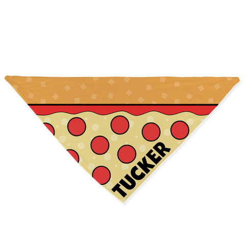 Pizza Bandana - Customize it!