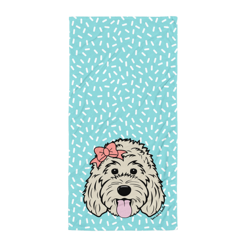 Sprinkles Beach Towel - Customize it!