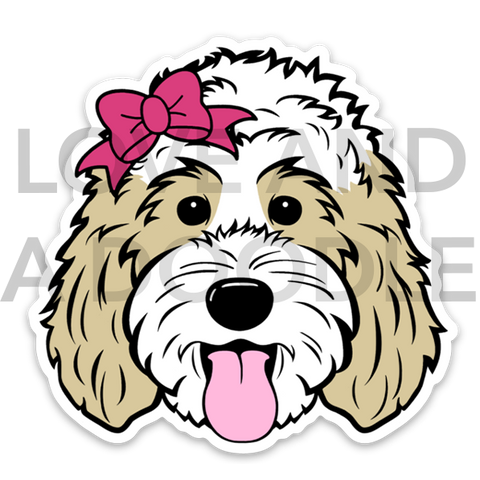 Doodette Sticker - Blonde 3