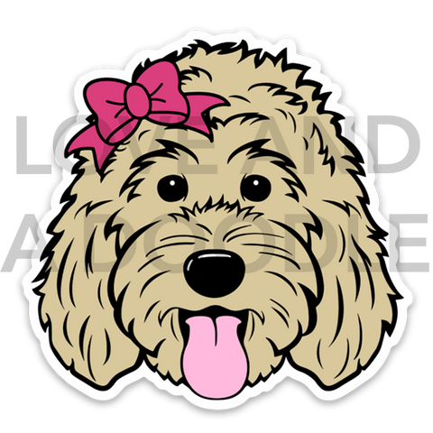 Doodette Sticker - Blonde 1