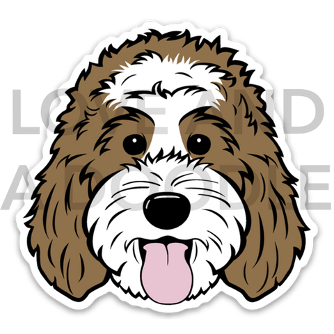 Happy Dood Sticker - Brown 5