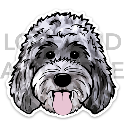 Happy Dood Sticker - Merle 1