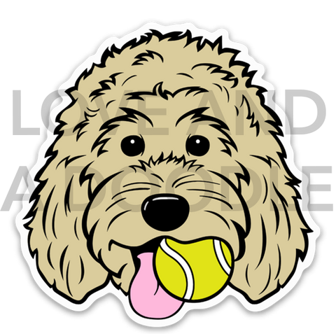 Playful Dood Sticker - Blonde 1