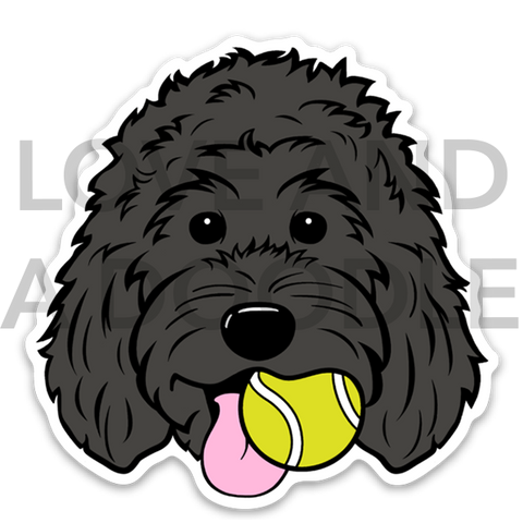 Playful Dood Sticker - Black 1