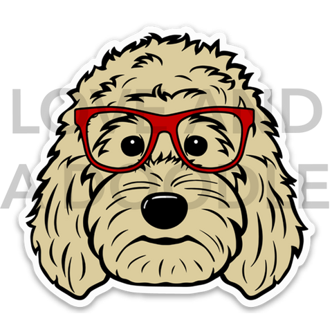 Smart Dood Sticker - Blonde 1
