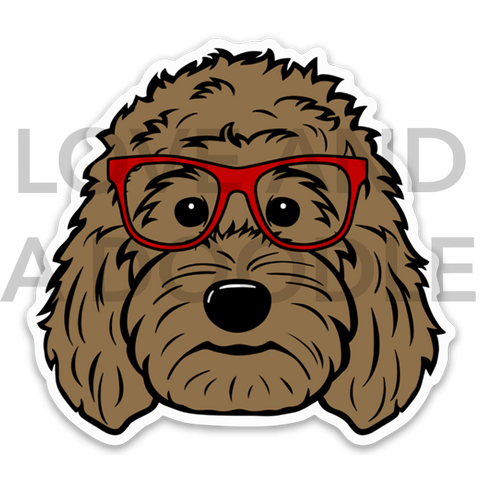 Smart Dood Sticker - Brown 1