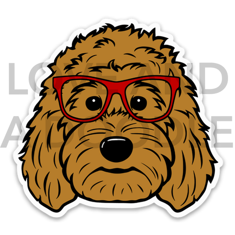 Smart Dood Sticker - Red 1