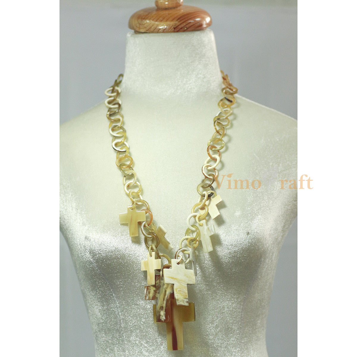 Horn Chain Necklace   Vc06